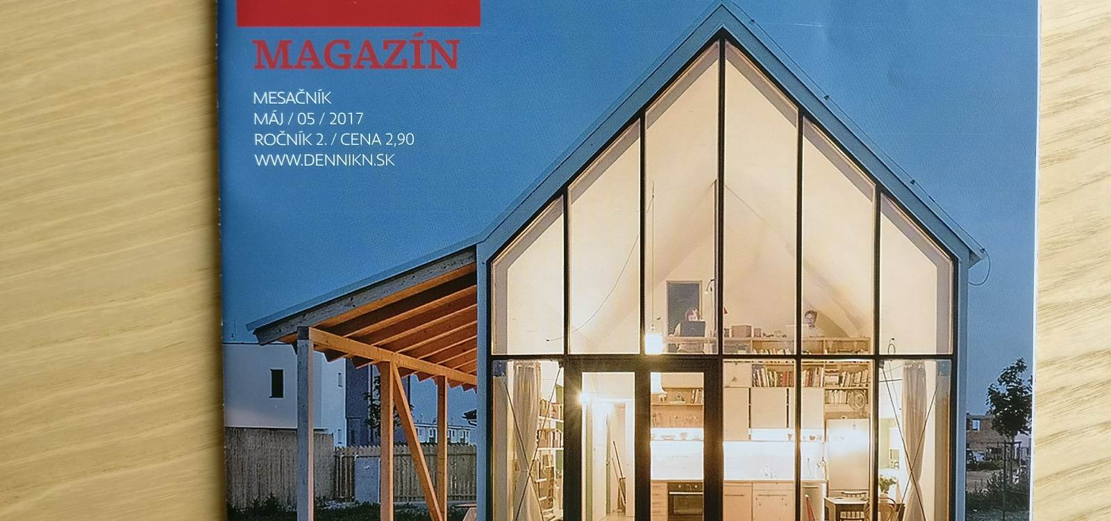 Interview for Dennik N | News | Atrium Architekti