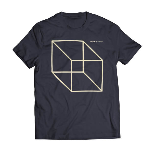 Atrium Black Cube Shirt 01