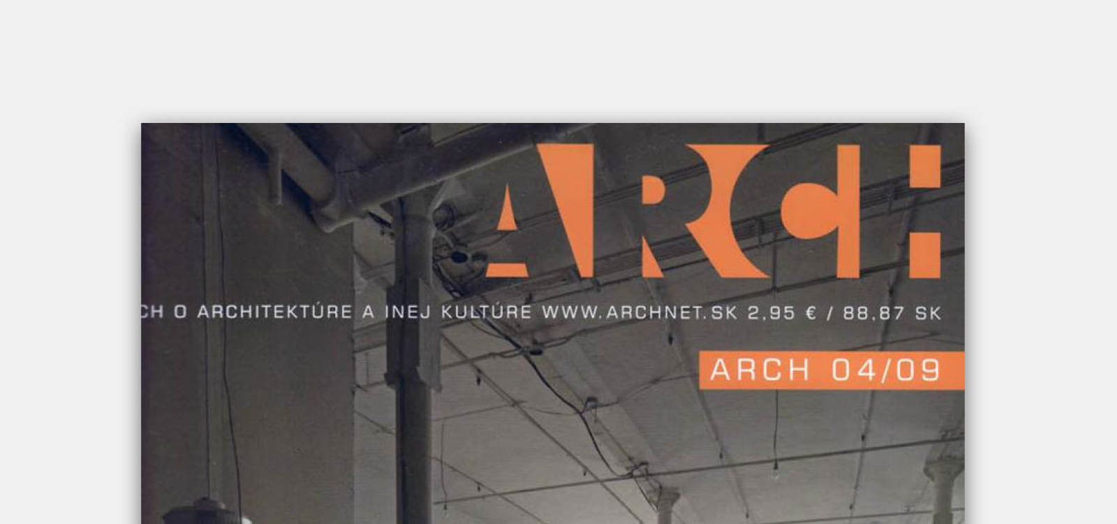 We are published at ARCH | News | Atrium Architekti