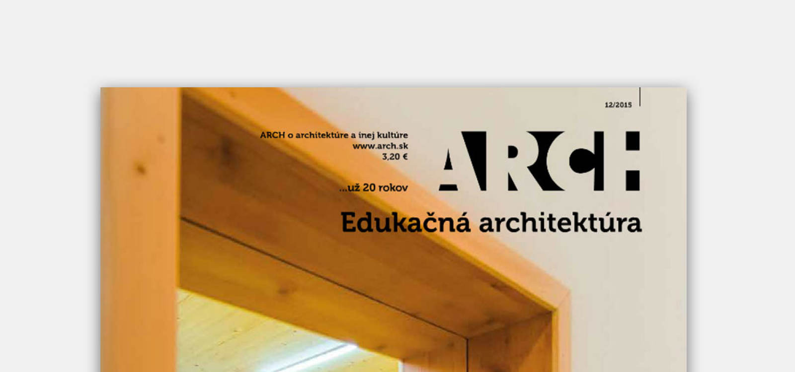 MORPH project in the new issue of ARCH magazine | News | Atrium Architekti